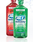 ACT FLUORIDE RINSE MINT 530ml