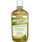 NutriBiotic Mouth Fresh Mouthwash Peppermint -- 470ml