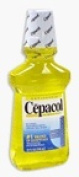 Cepacol Antibacterial Mouthwash and Gargle, Gold - 710ml