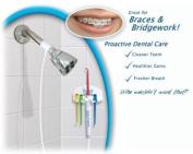 DENTAL SHOWER H2ORAL IRRIGATOR FLOSS