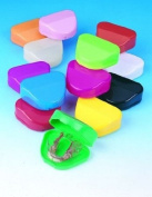 Smilebitz Orthodontic Retainer Box Assorted Colours 2 Pack
