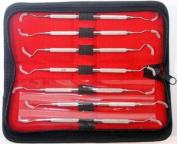 BD Periodontal Gracey Curettes Set of 7 Pcs Dental Instruments Double End