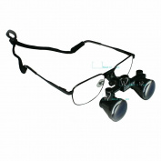 Dental Lab Surgical Medical Eye Loupe Glass 2.5x Amplification 420mm