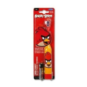"ANGRY BIRDS ""TURBO POWER"" BATTERY POWERED TOOTHBRUSH RED BIRD BATTERY INCLUDED"