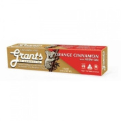 Grant's of Australia Herbal and Mineral Toothpaste - Cinnamon Zest - 110ml