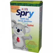 Xlear Spry Kid's Tooth Gel Toothpaste & Pacifier Dispenser, 60ml