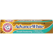 Arm and Hammer Advance White Fluoride Anticavity Toothpaste, Brilliant Sparkle - 180ml