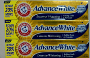 Arm and Hammer Advanced White Tartar Control Toothpaste Fresh Mint Flavour 210ml Tube