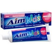 Aim Kids Mega Bubble Berry Fluoride GEL Toothpaste 140ml