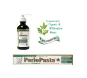 Oral Health Package - Includes PerioPasteTM Organic Toothpaste + PerioScriptTM Oral Cleansing Concentrate