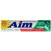 Aim Whitening Mint Gel Toothpaste W/Baking Soda