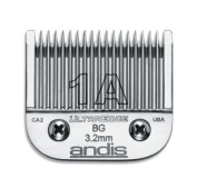 Andis Carbon-Infused Steel UltraEdge Dog Clipper Blade, Size-1A, 0.3cm Cut Length