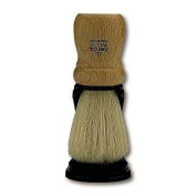 Omega Wood Handle Shaving Brush with Stand
