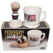 Marvy Shaving Gift Set Contains Mug, Brush, And Soap