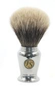 Finest Badger Chrome Shaving Brush 21 Mm