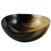 Buffalo Horn 8.9cm Palm Shave Bowl shave bowl by Hand Made Shave Bowls
