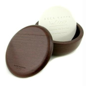 Shaving bowl in wenge wood with almond shaving soap 150 gr [Personal Care]