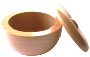 Colonel Conk Light Beech Wood Bowl with Lid