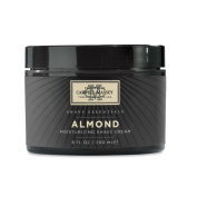 Caswell-Massey ALMOND Moisturising Shave Cream Jar 240ml/226g