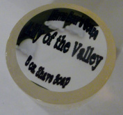 Mama Bear's Natural Shaving Soap with Lily of the Valley Fragrance