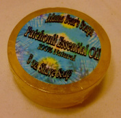 100% Natural Glycerin Shaving Soap with Patchouli Essential Oil
