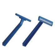 Bulk Savings 368465 Wholesale Twin Blade Disposable Razor- Case of 300