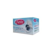 Fem Fairness Cream Bleach Milk, Pearl and Blueberry 24 g.
