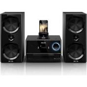 Philips DCM3020 Micro Hi Fi System Dock Station iPad iPhone iPod USB CD FM Radio.new.