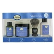 The Art Of Shaving The 4 Elements Of The Perfect Shave Ocean Kelp (Pre Shave Gel+ Shave Crm+ A/S Lotion+ Brush) 4Pcs