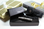 Groom Mate Platinum XL Nose ~ Nasal & Ear Hair Trimmer. Bundle Includes; Trimmer, Leather Pouch, Brush, Gift Box, Gift Wrap & Gift Card!