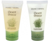 Desert Breeze Conditioner and Shampoo Lot of 18 (9 of each) 30ml Bottles
