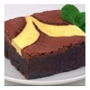 Davids Cookies Uniced Cheese Cake Brownie, 120ml -- 48 per case.