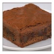 Davids Sliced Cookies Chocolate Chip Brownie, 120ml -- 48 per case.