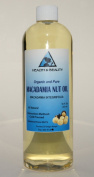Macadamia Nut Oil Organic Carrier Cold Pressed 100% Pure 950ml