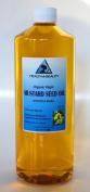 Mustard Oil Unrefined Organic Carrier Cold Pressed Pure 950ml