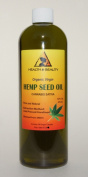 Hemp Seed Oil Organic Virgin Carrier Cold Pressed Unrefined Pure 950ml