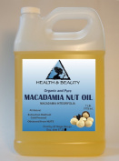 Macadamia Nut Oil Organic Carrier Cold Pressed 100% Pure 3310ml, 7 LB, 1 gal