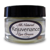 Rejuvenance - 100% Natural, Organic Under Eye Cream - Removes Dark Circles, Lines and Wrinkles from Under Eyes Naturally - 15ml