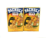Pacholi Scented Soap Lot of 2