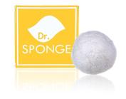 Dr. SpongeTM Facial Cleansing Sponge - Pearl Powder
