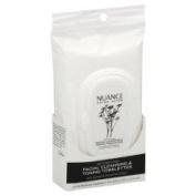 Nuance Salma Hayek Detoxifying Facial Cleansing & Toning Towelettes