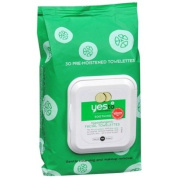 Yes to Cucumbers Hypoallergenic Facial Towelettes 30 ea