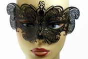 NEW Princess Classic Venetian Intricate Design Laser Cut Masquerade Mask - Elegantly Detailed