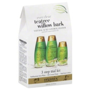 Organix Ever Clear Natural Acne Control System, Teatree Willow Bark, 1 ea