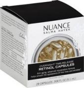 Nuance Salma Hayek Overnight Time-Release Retinol Capsules