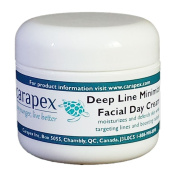 Carapex Facial Day Cream with Deep Line Minimizer, Anti-ageing Daily Moisturiser, All Natural Ingredients, 60ml