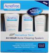 Acnefree Sensitive Skin 24 Hour Acne Clearing System Kit