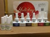 gelish holiday 6 pcs set free 6 pcs cuticle oil
