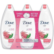 SCS Dove Go Fresh Body Wash, Revive - 710ml - 3 pk.