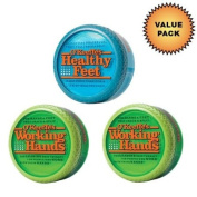 O'Keeffe's Working Hands Cream 2 Pack + O'Keeffe's Healthy Feet Cream :